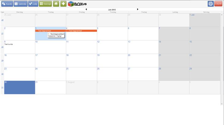php-myslq-kundedatabase-kalender