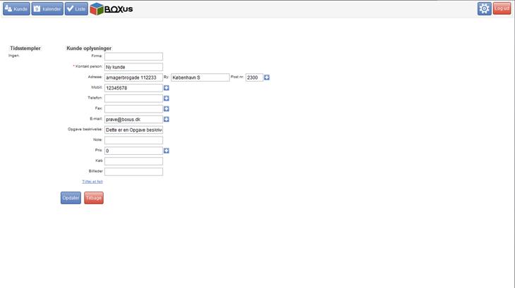php-myslq-kundedatabase-ny-kunde
